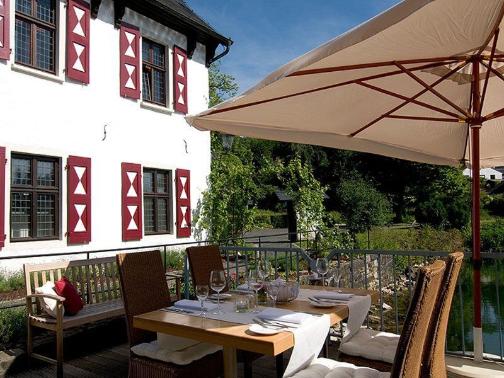 Café / Restaurant auf der Terrasse