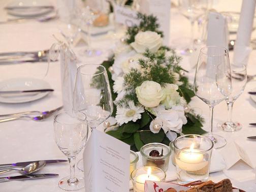 Hochzeitslocation - Tisch