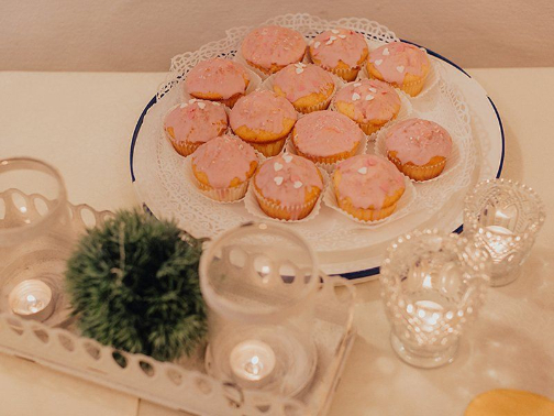Selbstgebackene Muffins