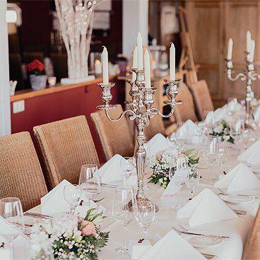 Eventlocation: Hochzeitsfeier